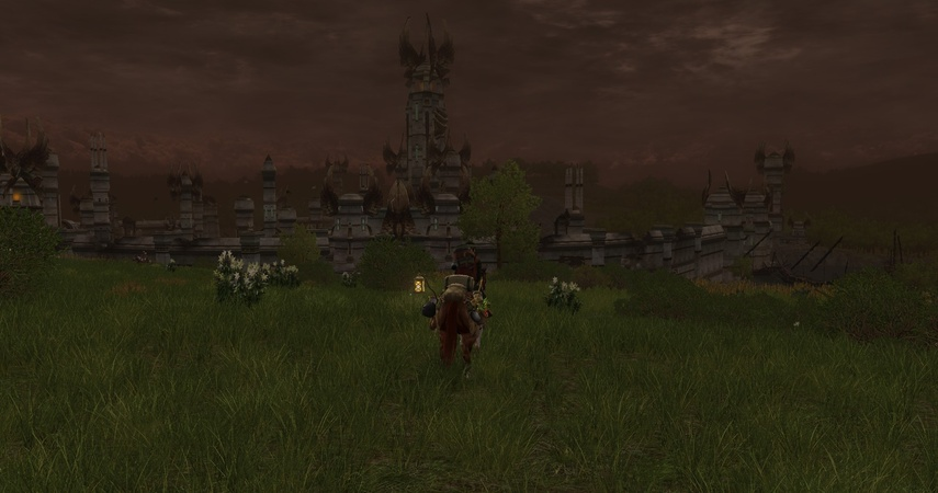 Along the Anduin